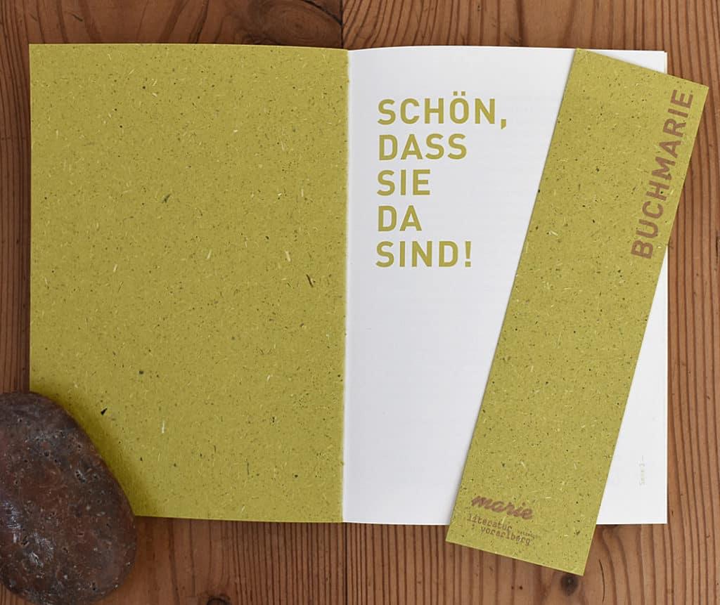 Buchdesign - buchmarie