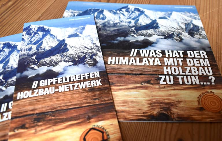 Imagebroschüre, Folder - holzbauwelt.de